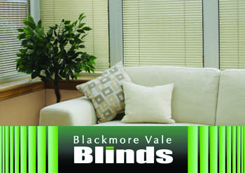 2Conservatory Blackmore vale blinds