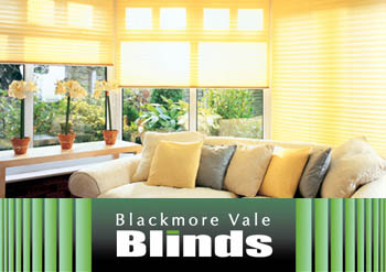 5Pleated Blackmore vale blinds