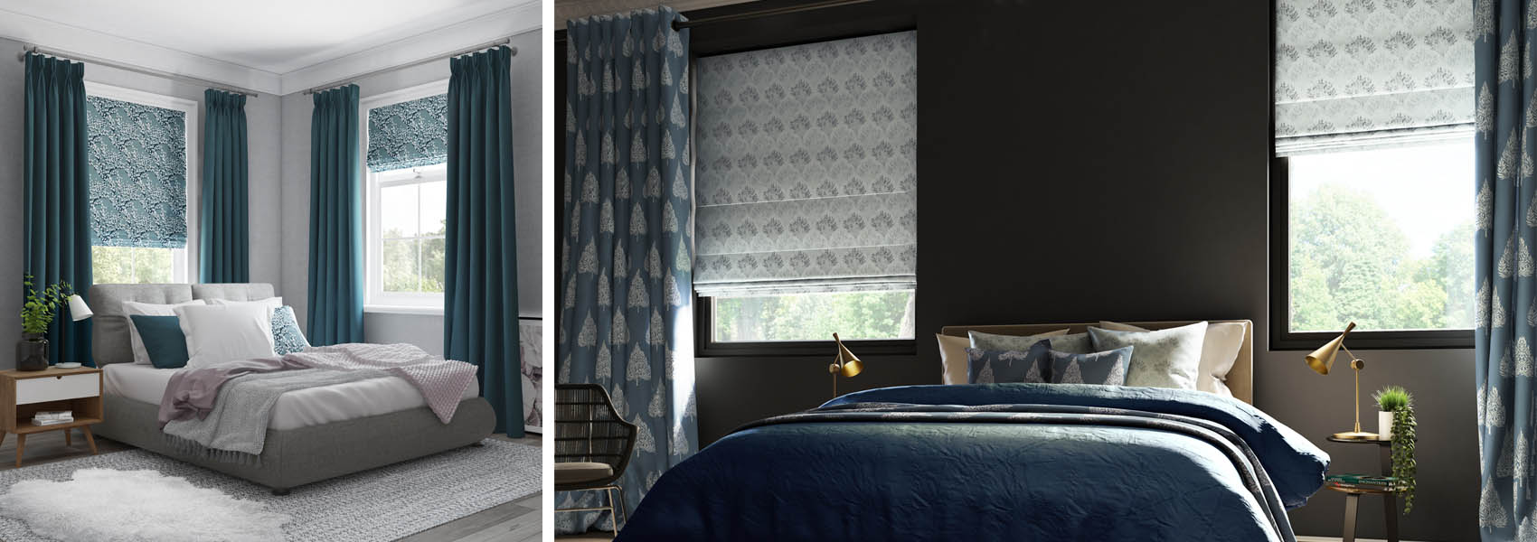 Curtains & Poles from Blackmore Vale Blinds