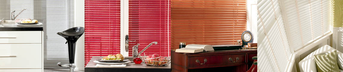 Wooden Venetian blinds from Blackmore Vale Blinds