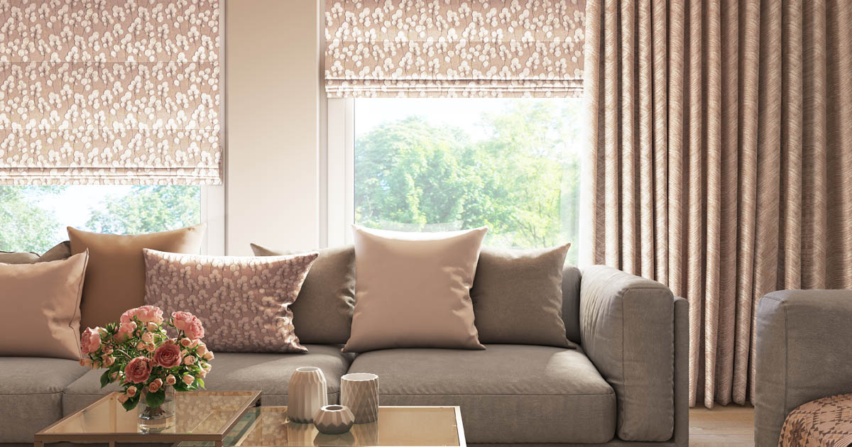 Roman Blinds from Blackmore Vale Blinds