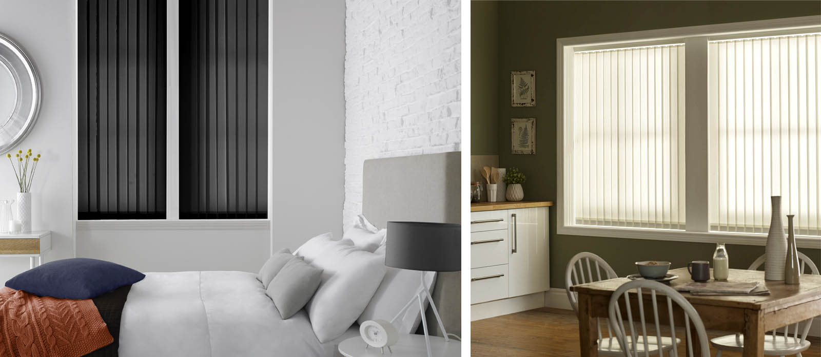 Vertical Blinds from Blackmore Vale Blinds